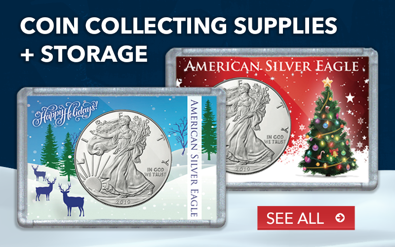 Coin Collecting Storage & Supplies